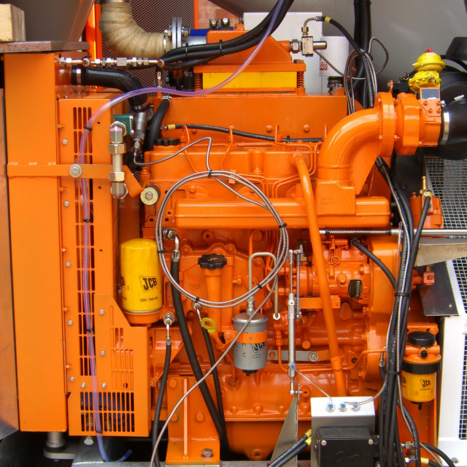 JCB Explosion Protection Engine Kits (ATEX)